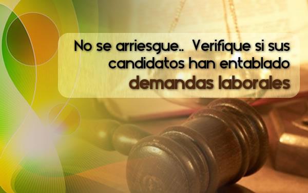 demandas laborales